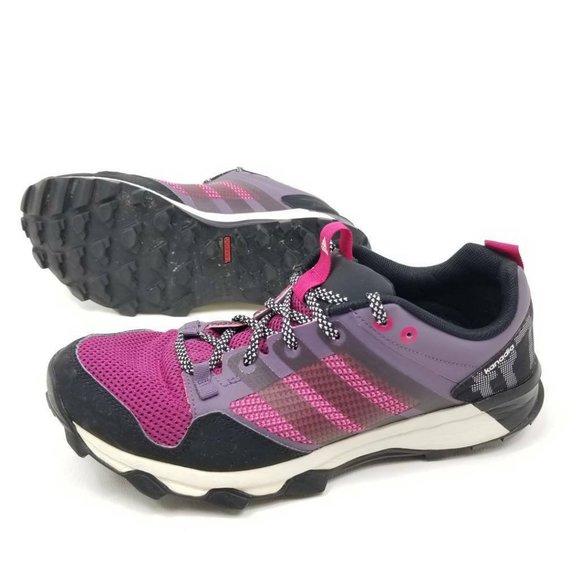 Adidas Womens 10 Kanadia TR 7 Pink Running Shoes